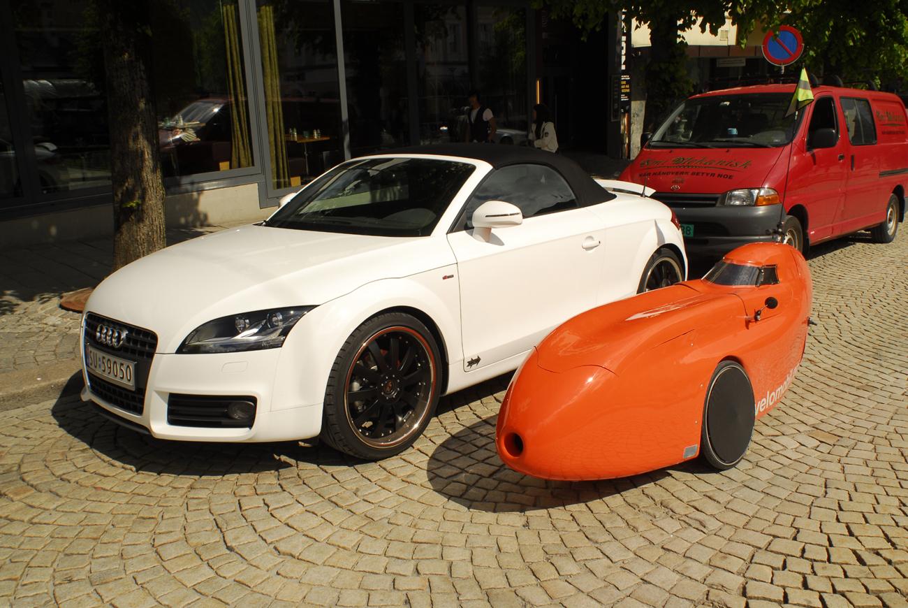 Waw Velomobile Audi Tt